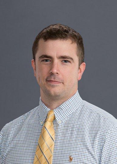 Josh, urgent care physician assistant, smiling