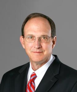 Dr. Klasson, an orthopedic surgeon, smiling